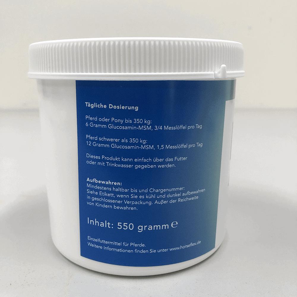 Reines Glucosamin für Pferde