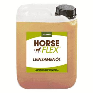 Leinsamenöl für Pferde